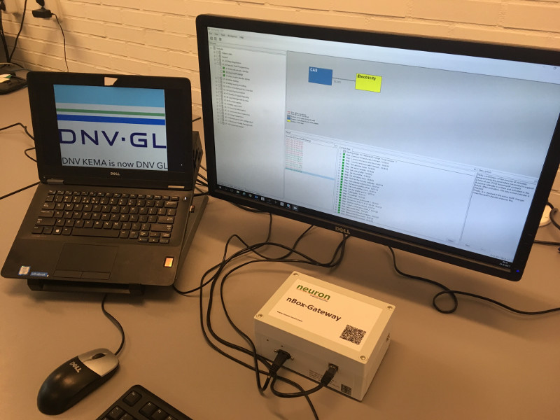 DNV-GL DLMS tester and nBox-Gateway picture